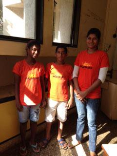 Sumita, Faahim, Reshma